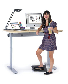 Electric Height Adjustable Desks & Desk Bases