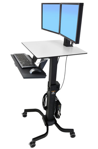 Indoff Oregon Freestanding Technology Mobile Work Stations