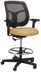 Re-Curve Mesh Back Counter Height Chair