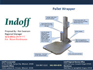 Indoff is a Pallet Wrapper Dealer