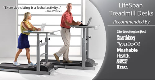 Lifespan Fitness Treadmill Desk TR1200