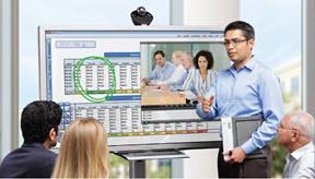 Clary ICON Video Conferencing is like using a huge iPad